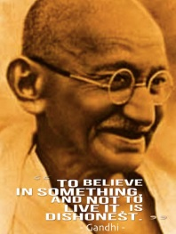 Gandhi Believe Something